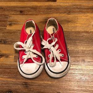 EUC toddler Converse!